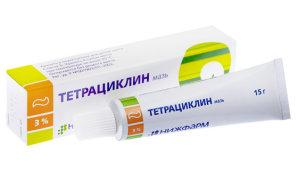 Может ли помочь тетрациклин от герпеса на губе