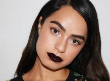Темные оттенки помад: правила нанесения и использования в макияже