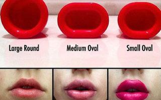 Что такое плампер и как присоска помогает увеличить губы