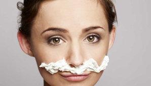 Чем обесцветить усики над верхней губой: полезные домашние советы