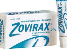 Мазь от герпеса и простуды на губах Зовиракс: свойства и эффективность