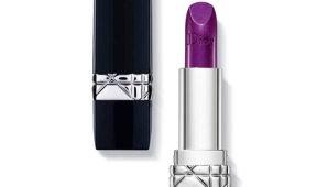 Как использовать фиолетовую помаду в дневного и вечернего макияжа