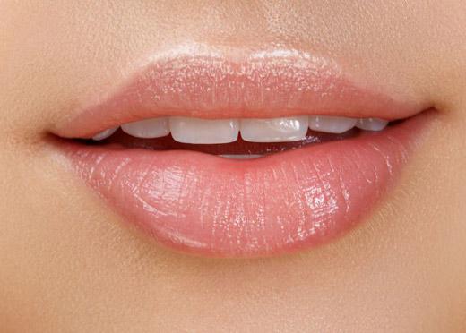 Симметричные губы
