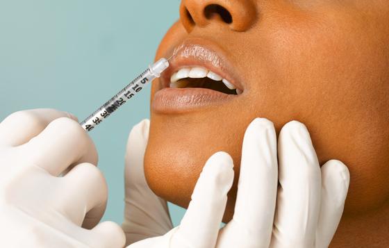 процесс увеличение губ