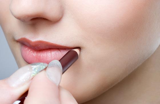 макияж для увеличения губ