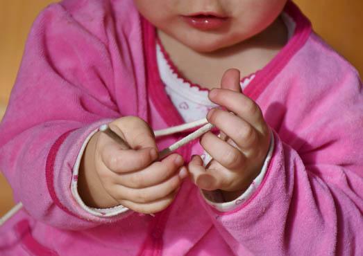 губы ребенка