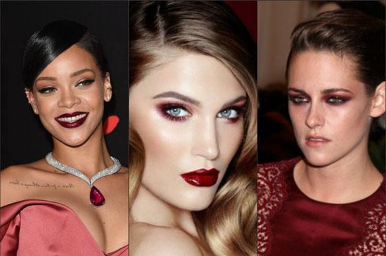 Девушки с яркими губами