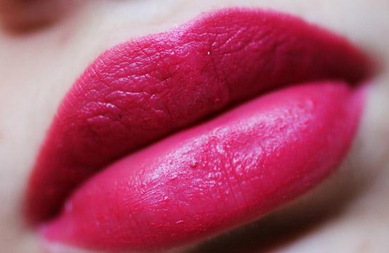 Розовые губы