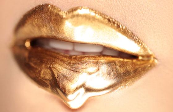 Золото на губах