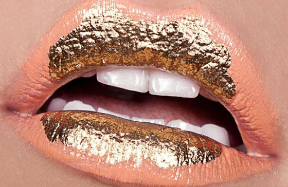 Золотые губы